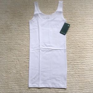 NWT Lysse white anatomical tank
